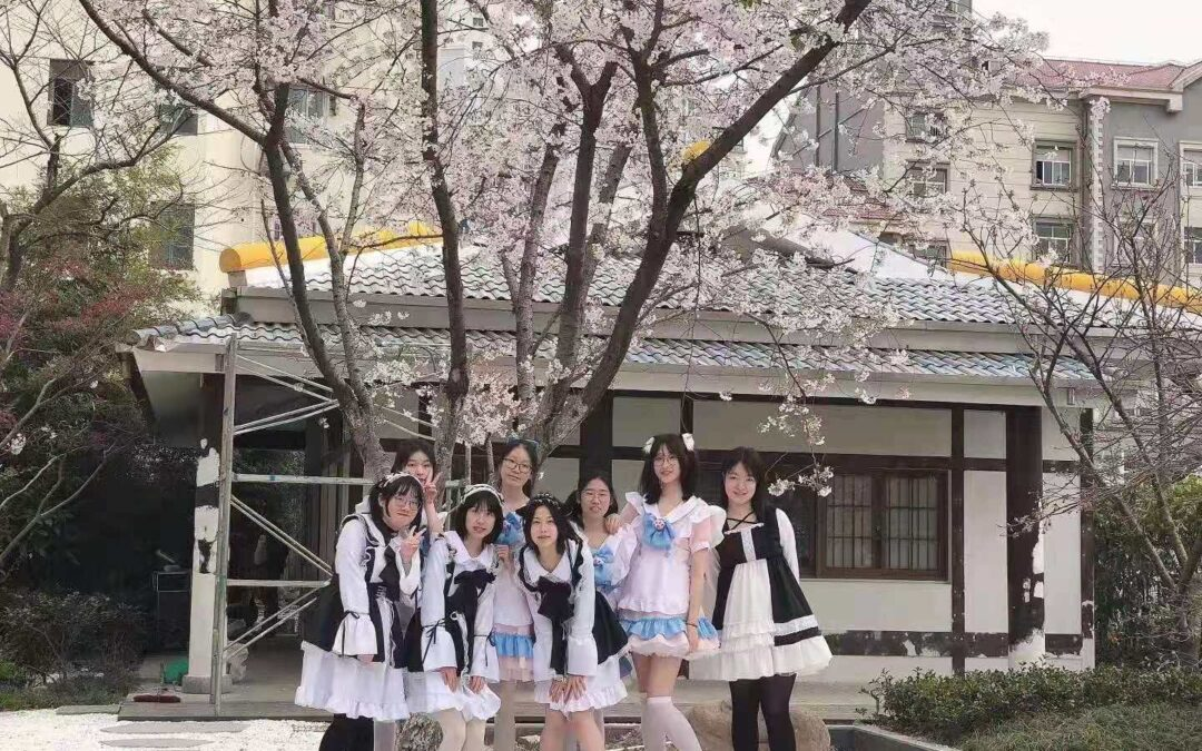 Scambi culturali con Shanghai: Cerimonia di chiusura del festival dei Ciliegi in fiore